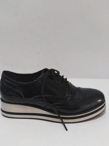 Cipele na platformu - Srbija: Lusso kožne perfektne cipele,izradjene od prirodne lak kože spolja i
