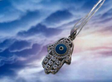Украшения - Бишкек: АкцияОчень красивый кулончик от сглаза 🧿•Серебро 925пробы •Старая