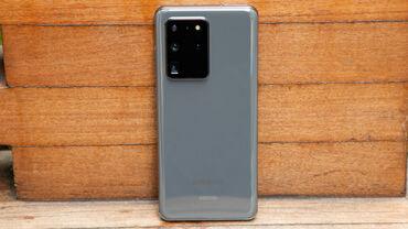 zapchasti na telefon в Кыргызстан: Б/у Samsung Galaxy S20 Ultra 256 ГБ Серый