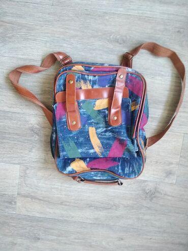 Рюкзаки в Кыргызстан: Рюкзак. Портфель.  В хорошем состоянии