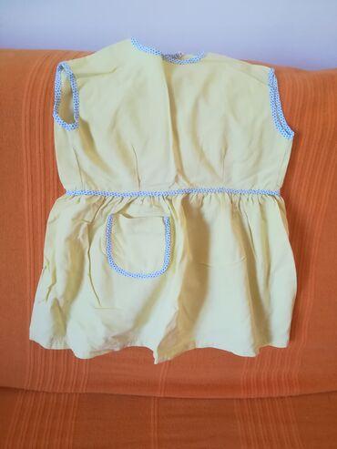 Prelepa žuta haljinica za uzrast do 1 godine, obim ispod pazuha 56