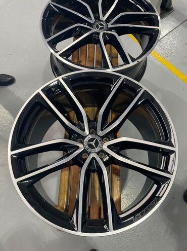 Ehtiyat hissələri və aksesuarlar - Azərbaycan: R23 razmer orijinal yeni nəsil Mercedes GLS və GLE 2020 diskləri və