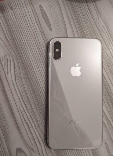 сколько стоит айфон 6 in Кыргызстан | APPLE IPHONE: IPhone X | 256 ГБ | Белый Б/У | Face ID