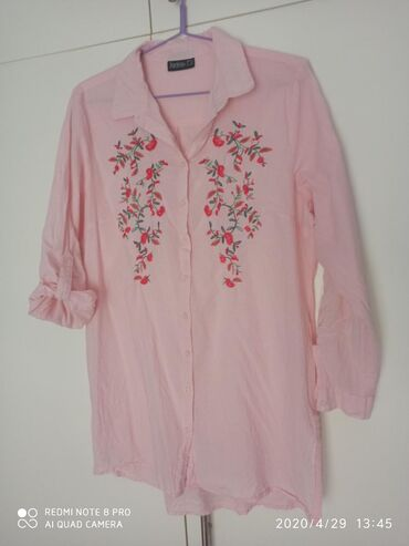 Φανταστικη αερινη πουκαμισα! Μακρυα καλυπτει medium και large