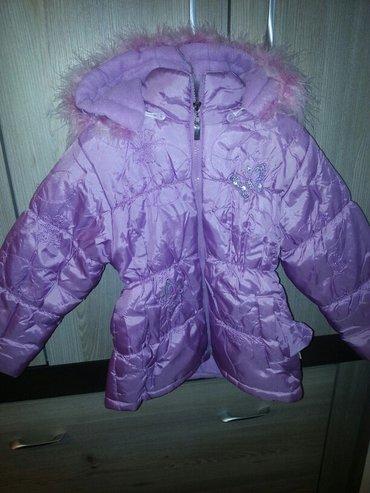 Zimska jaknica za devojčice, broj 5. Strukirana, u odličnom stanju. - Vrsac