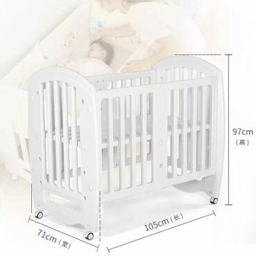 Крутая Детская кроватка трансформер 6 в 1. Покупали для своего