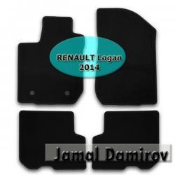 "renault logan 2019 - Azərbaycan: NOVLINE RENAULT Logan 2014 ucun kovrolit ayaqaltilar""AILERON"""