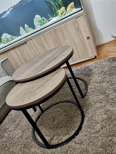 Club sto, kombinacija čelika i iverice. Posetite našu instagram