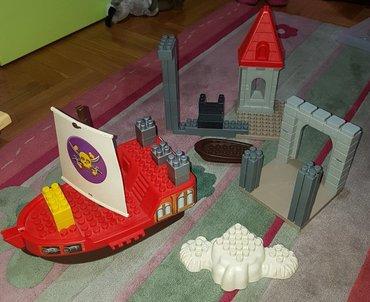 Abrick Ecoiffier kocke zamak..zatim brod..ostrvo.. svasta..  - Belgrade