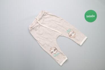 Детская одежда и обувь - Украина: Дитячі штани з принтом лінивця Veres, вік 9-12 міс., зріст 80 см    До