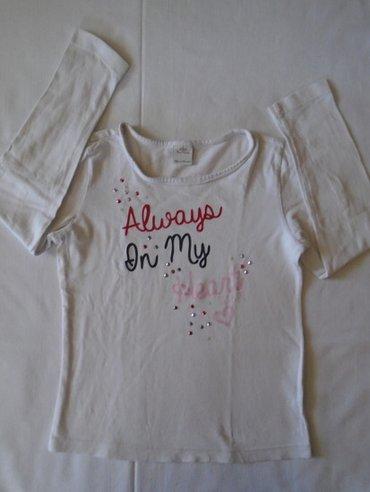 Majica sl sa - Srbija: Majica za devojčice sa tekstom i perlicama, s. Oliver od 100% pamuka