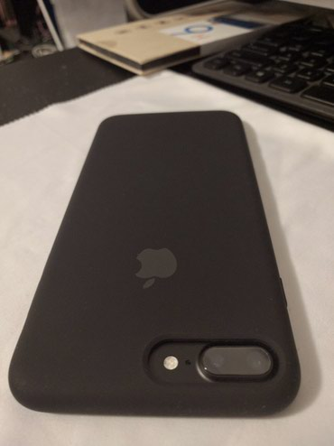 Iphone 7+ black matte 128gb EAC! Пользовался сам в Бишкек