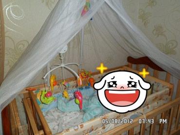 Продаю кроватку детскую . качка в Бишкек