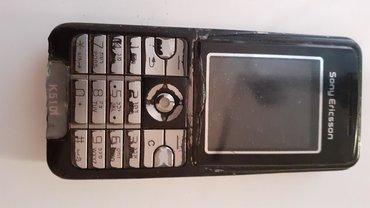 Sony ericsson k510i,qeydiyyat lazimdi,batareya deyismelidi,adaptor
