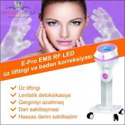 aparatı - Azərbaycan: Ariqlama aparatiLifting E-Pro EMS RF LED üz liftingi və bədən