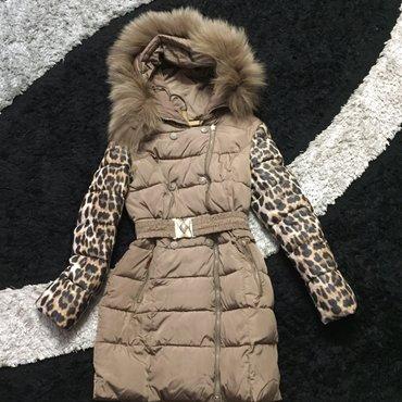 Куртка,размер s,очень теплая,наполнитель не сбивается. Уступлю.Опушка  в Бишкек