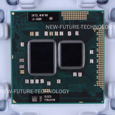 Bakı şəhərində i3-380M noutbuk üçün prosessor  SLBZX