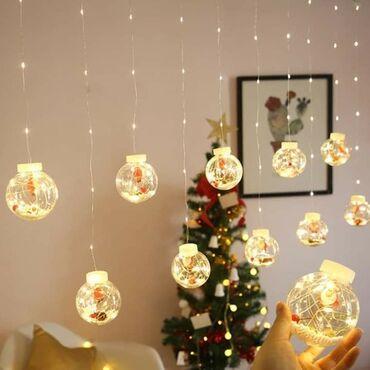 Osvetlite svoju prazničnu zabavu trepćućim lampicamaLED (kugla) žica