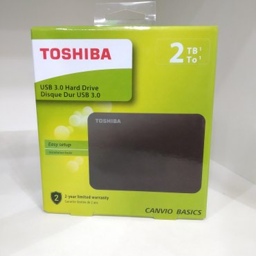 sert-disk - Azərbaycan: Original Toshiba 2tb external hdd. usb 3.0 xarici sert disk