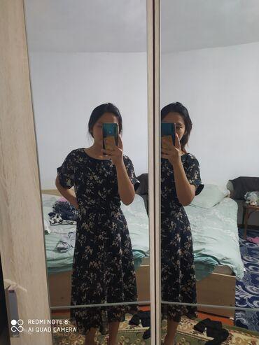 Личные вещи - Кант: Продам платье 500 сом.покупала за 1200, размер 42-44,носилв 2