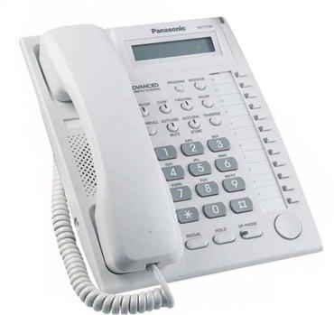 Panasonic kx t7730x - Кыргызстан: Телефон системный KX-T7730 б/у происходит от современной линейки