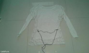 Majica koncana ispod pamuk sa srebrnim lancem lepo stoji - Backa Palanka