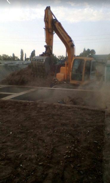 КамАЗ, экскаватор, услуги в малых и в Бишкек