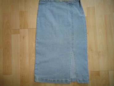 Teksas suknja - Srbija: Teksas suknja uska, vel 34 . Dosta je rastegljiva.Obim struka 66