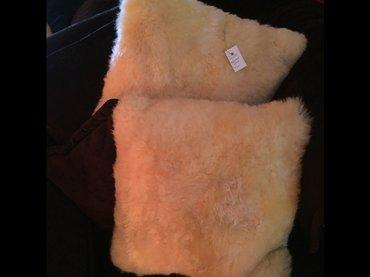 Подушка меховая 40 см х 40 см. в Бишкек