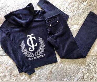 juicy couture купальник в Кыргызстан: Велюровый костюм от Juicy Couture состояние хорошее, размер С, цена