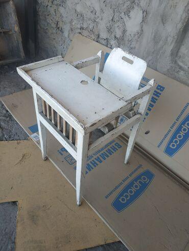 Детский мир - Каракол: Детский стол, нужно покрасить, дерево