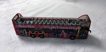 Avtomobil modelləri | Srbija: Siku Berlin Sightseeing bus HO 1/87 réf 1885, ocuvan
