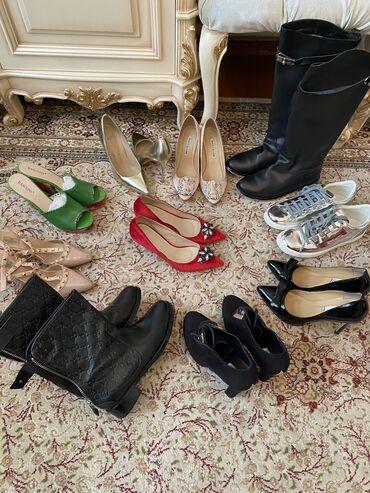 Женская обувь в Бишкек: ‼️Шок‼️Дешёво‼️Распродаю обувьв идеальном состоянииносили 1-2 раза
