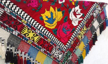 Уголок-панно. Полностью ручная вышивка. в Душанбе - фото 5