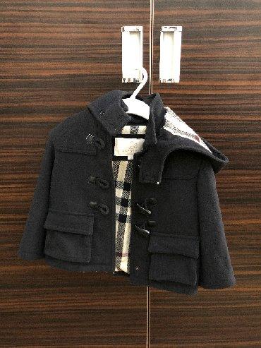 shorty burberry в Кыргызстан: Детское пальто Burberry. Оригинал. Размер 2 года. Куплено за 400$