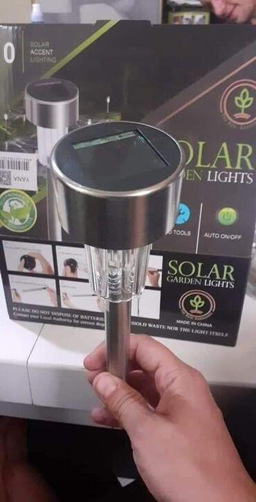 Solarne lampe  4 kom 1800 6 kom 2000 10 kom 2900