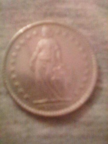 Швейцарский Франк монета 1968года, Для коллекционеров! в Бишкек