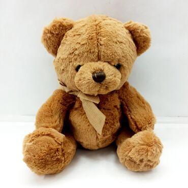 Реалистичная - Кыргызстан: Мягкий медведь игрушка.Верный друг для ребёнка в реалистичной