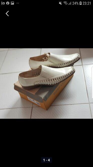 Muske cipele - Srbija: Muske cipele 42 br odgovaraju broju 44 29cm unutrasnje gaziste Nove