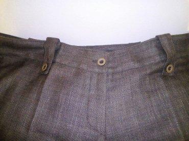 Elegantne ženske pantalone, nove, struk: 90cm, dužina:102cm, maslinast - Beograd