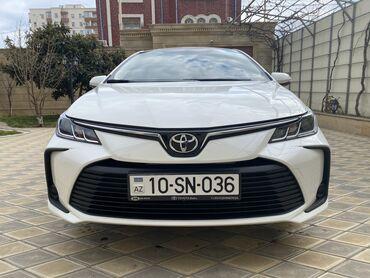 toy çəkmələri - Azərbaycan: Toyota Corolla 1.6 l. 2020 | 1200 km