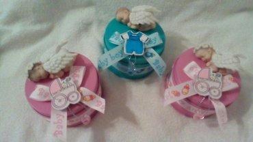 Kutijice za cuvanje prvih bebinih uspomenica (trakica iz porodilista - Beograd