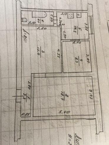 комнаты в общежитии в Кыргызстан: Продается квартира: 3 комнаты, 61 кв. м