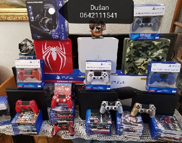 Akcija! Povoljno! Prodajem Sony Playstation 3 i 4 ( ps3 i ps4 )