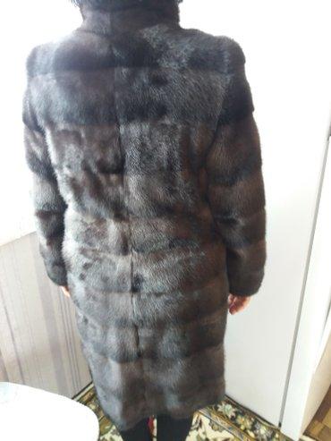 Шубы в Кыргызстан: Продаю нов норковую шубу, размер 46-48, до колен. трансформер-рукава с
