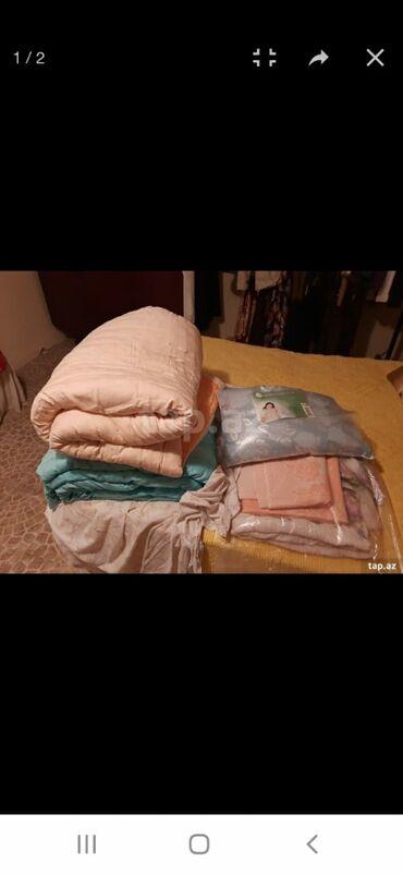 Даа новых шерстяных одеяла(йорган)в шелковых чехлах.вес каждой 4кг
