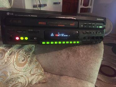 TV/video üçün aksesuarlar Gəncəda: Karaoke satilir LG uc diskli iki mikrafonlu