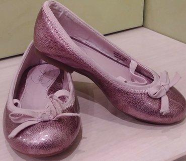 Продам очень нарядные балетки Zara, новые, размер 24 в Бишкек