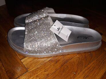 Nove papuce, samo probane, kupljen pogresan broj. Nestvarno udobne