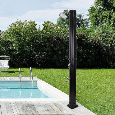 LUKSUZNI Nov Solarni tuš 35 litara koristi za zagrevanje vode samo